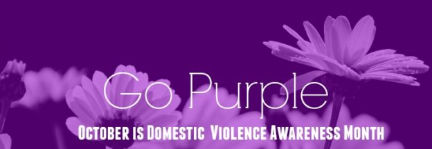 October is Domestic Violence Month